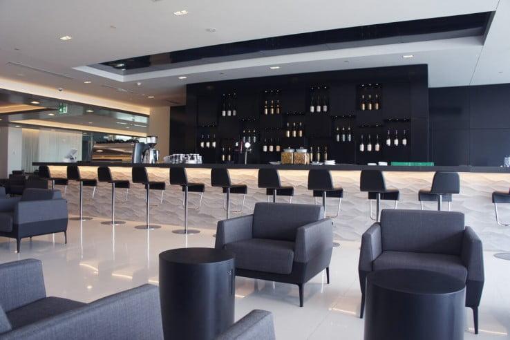 Air NZ Auckland International Lounge