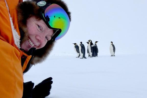 Alice Coombes, Antarctica.