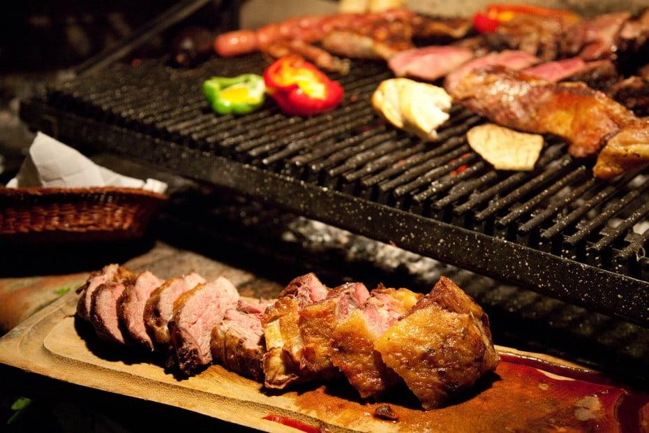 Asado BBQ food, Buenos Aires, Argentina.