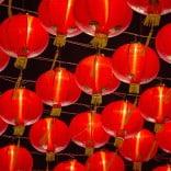Red lanterns, Shanghai, China.