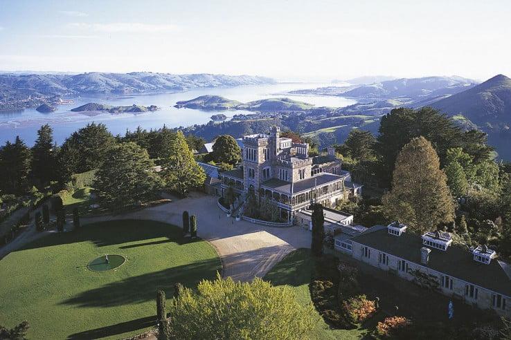 Larnach Castle, Dunedin, New Zealand.