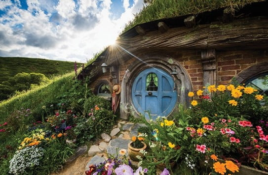 Hobbiton Movie Set, Hamilton, New Zealand