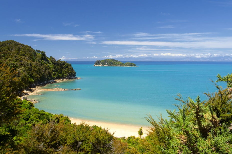 Abel Tasman National Park, Nelson, New Zealand.