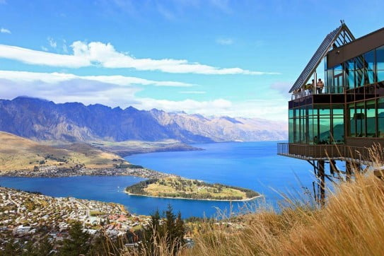 View from the gondola, Queenstown.