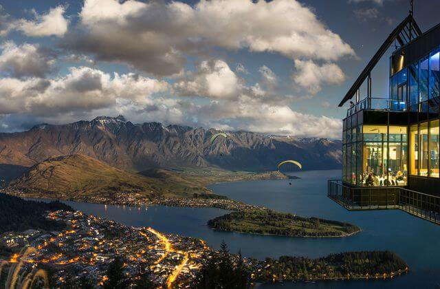 View of Skyline, Queenstown, New Zealand