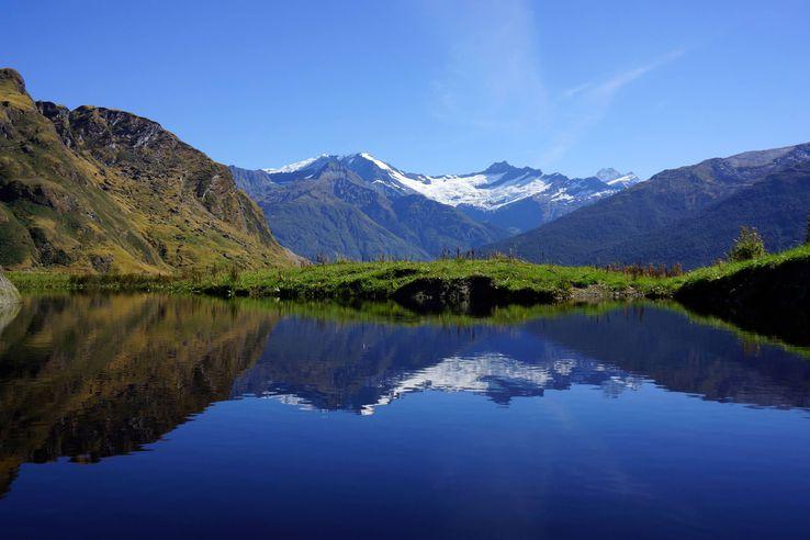 Mount Aspiring National Park, New Zealand.
