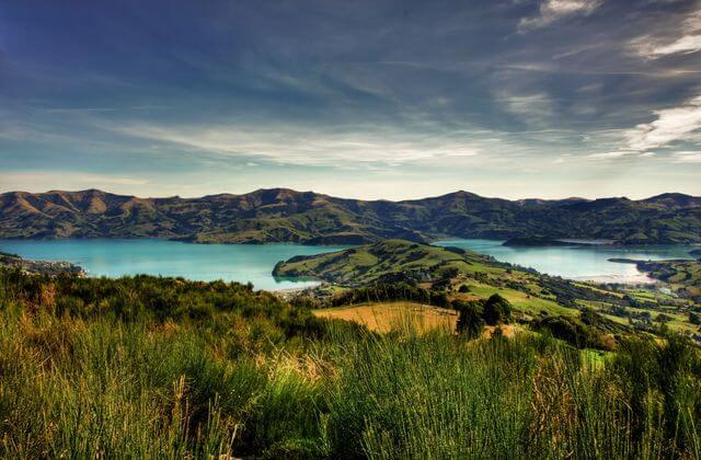East Coast Banks Peninsula, South Island, New Zealand
