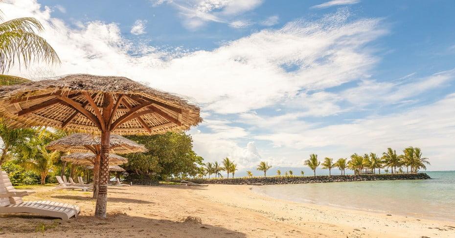 Beach in Upolu Island, Apia, Samoa