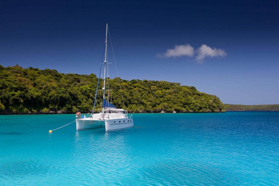 Vava'u sailing, Tonga.