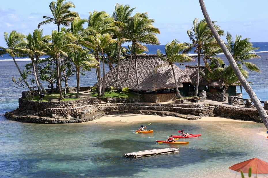 Kayaking, Fiji.