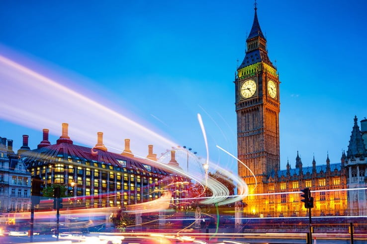 Big Ben, Westminster, London, United Kingdom.