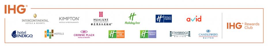 IHG new brand bar