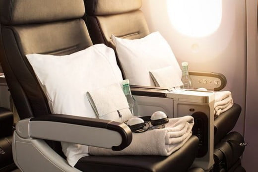 Boeing 787-9 Premium Economy seats