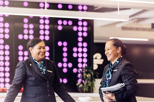 Air New Zealand customer services
