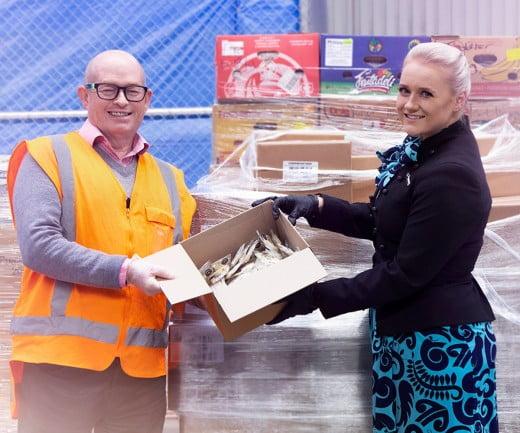 Air NZ supports Mangere Food Bank