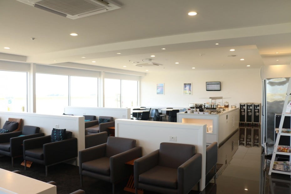 New Plymouth Regional Lounge.
