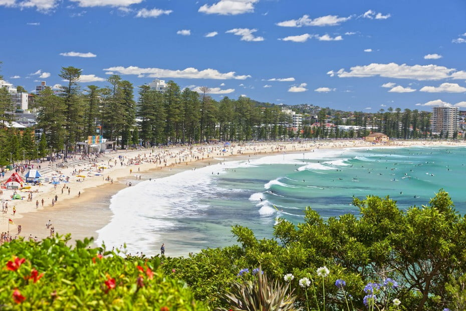 Manly Beach, Sydney, AU.